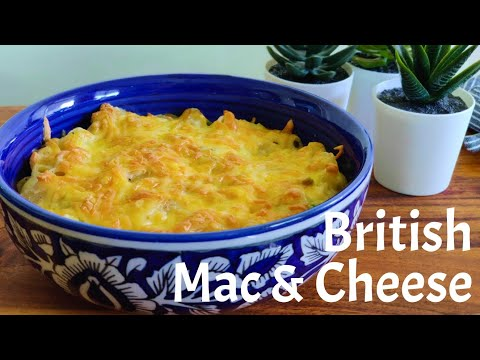 British mac & cheese recipe | Macaroni recipe | Easy vegetarian pasta recipe |