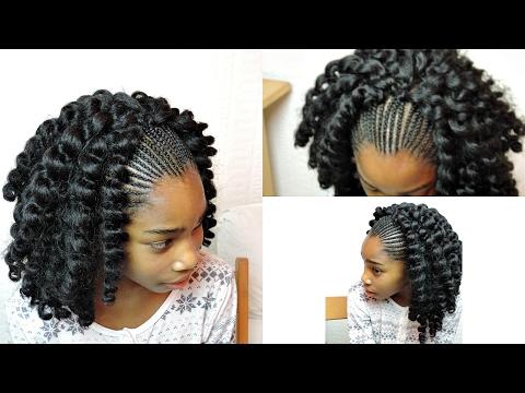 kids crochet braids with jumpy wand curl twist xtrend