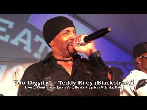 """No Diggity"" - Teddy Riley (Blackstreet) Live @ Gentleman Jack's Art, Beats + Lyrics (Atlanta, GA)"