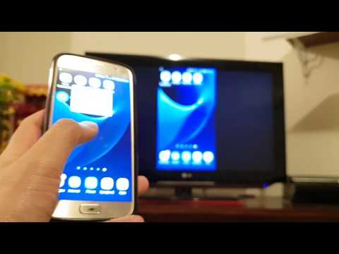 How to connect samsung s7 to tv using usb cable