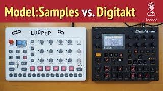 Loopop Review: Elektron Model Samples vs. Digitakt + 10 performance tips/hacks