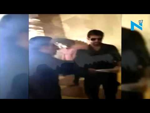 On cam: Indian filmmaker mobbed at Karachi Airport