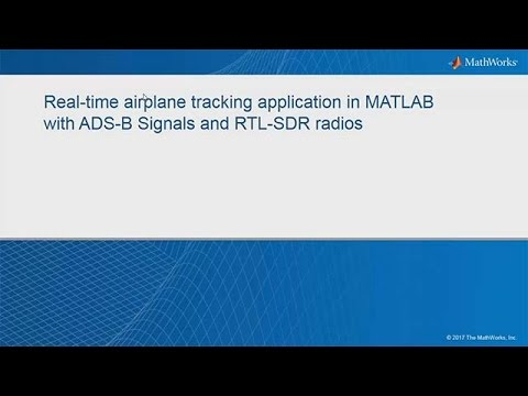 Real-time Airplane Tracking with ADS-B Signals and RTL-SDR Radios