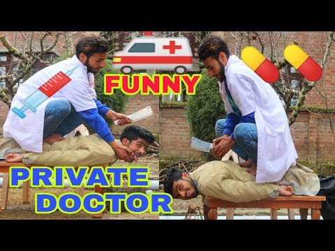Private Doctor funny video by kashmiri rounders