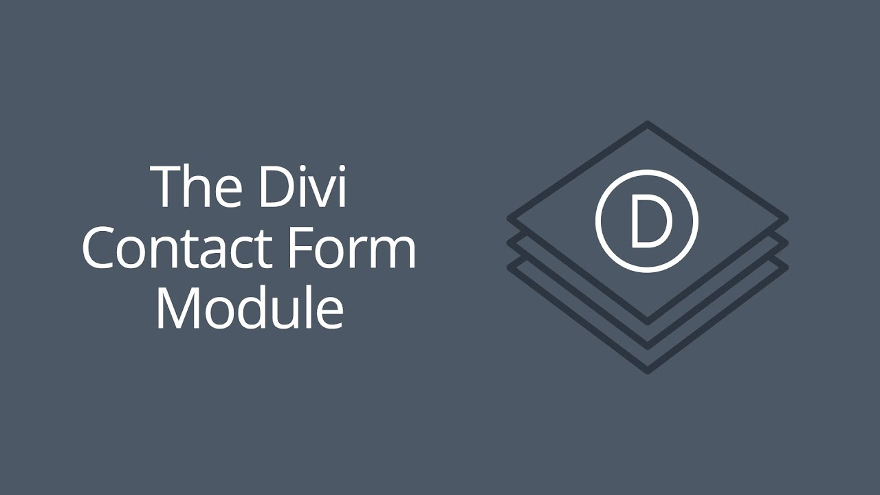 The Divi Contact Form Module