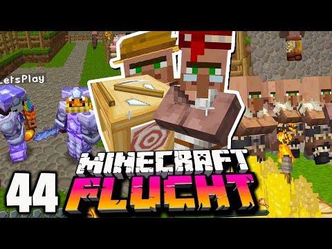 Wir bekämpfen die ARBEITSLOSIGKEIT in unserem Dorf! ☆ Minecraft FLUCHT #44