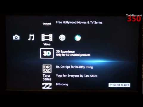 Sony Streaming Media Player (SMP-N200): User Interface & Wal