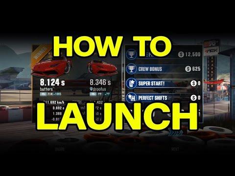 CSR Racing 2 - The three alternative launch techniques