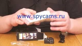 Миниатюрная видеокамера T-9000. Комплектация, общий вид устройства.