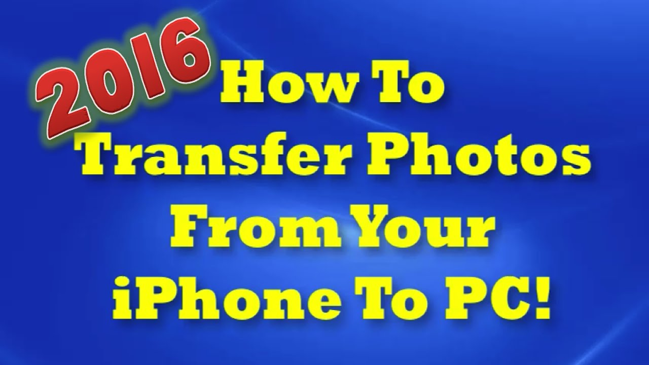 how do i transfer photos from iphone to computer how to transfer photos from iphone to computer 2016 doovi 3449