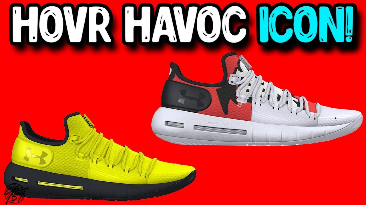 6e7d0a4a8e9 Customizing the Under Armour Hovr Havoc Low on UA ICON! - YouTube
