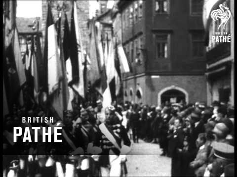 Southern Germany - Beer Festival, Remembrance Service, War Memorial (1920-1929)