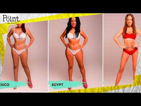 Men Think These Body Types Are Ideal Photos Youtube