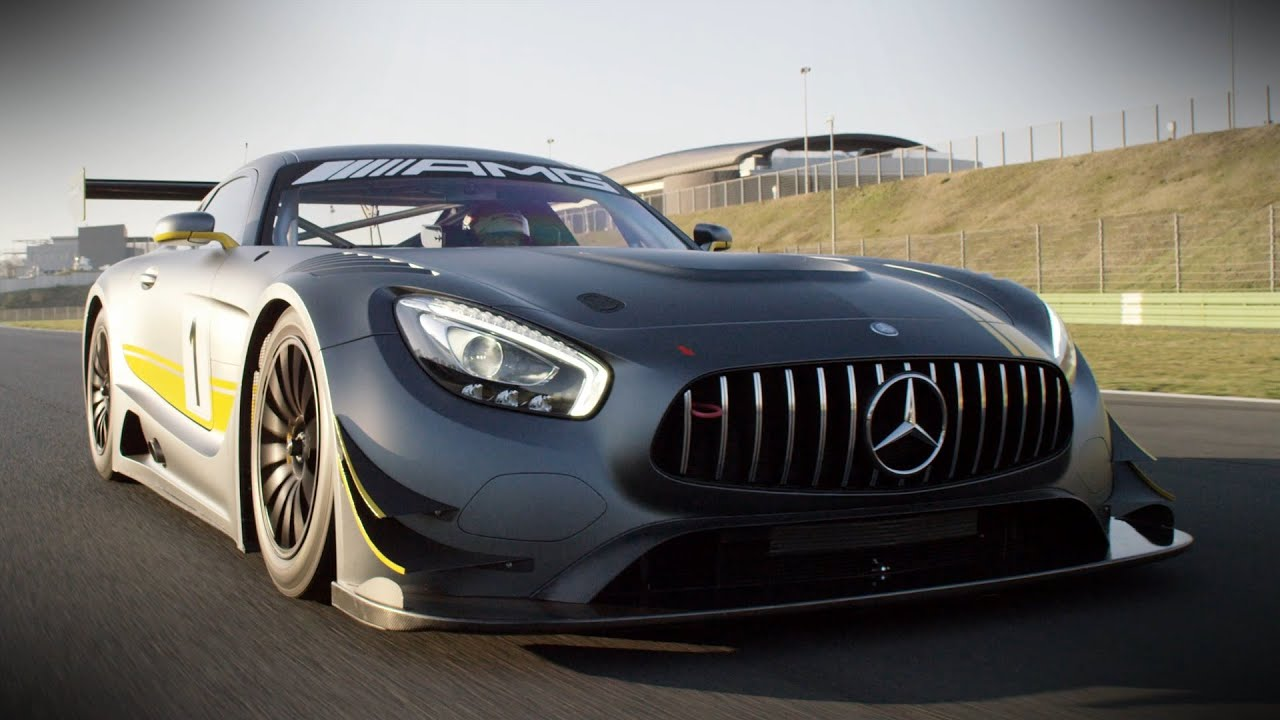 Preview Of The New Mercedes-AMG GT3
