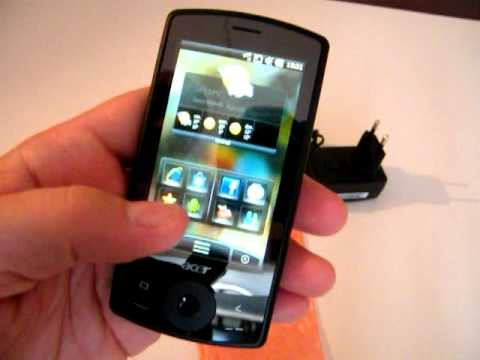 Acer BeTouch E101 30 octobre