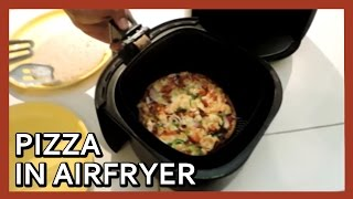 Pizza in Airfryer  Pizza at home with Airfryer  Air Fryer Pizza  Homemade Pizza Recipe