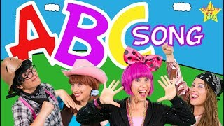 learn the abc song five finger family learn the alphabet with debbie doo kids education videos