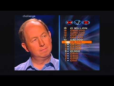 Series 8 Who Wants to be a Millionaire 8th October 2000