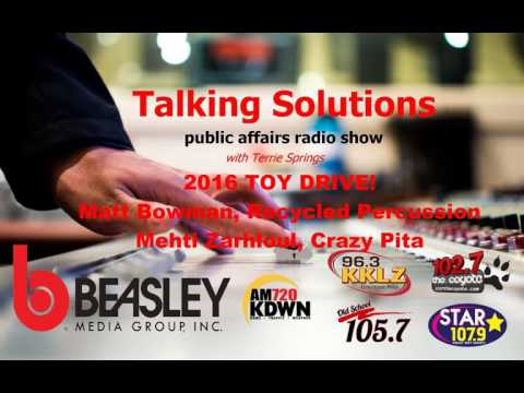 Talking Solutions - 2016 TOY DRIVE