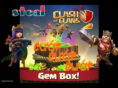 [Clash of Clans Gems] Cuop Gem Box kiem gems Freemyapps