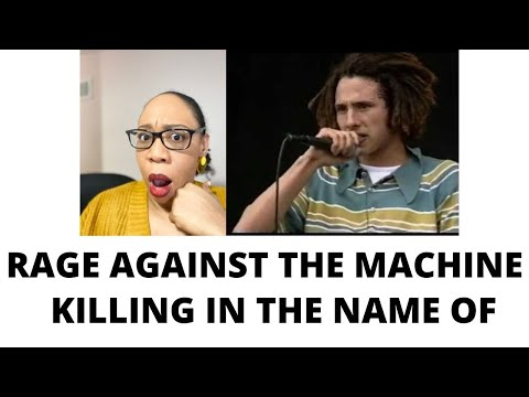 RAGE AGAINST THE MACHINE – KILLING IN THE NAME – 1993 | REACTION