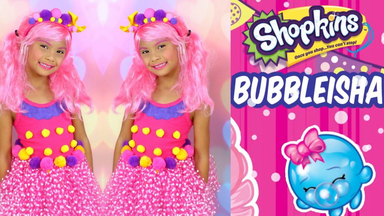 diy shopkins costume shopkins shoppies doll bubbleisha dress up