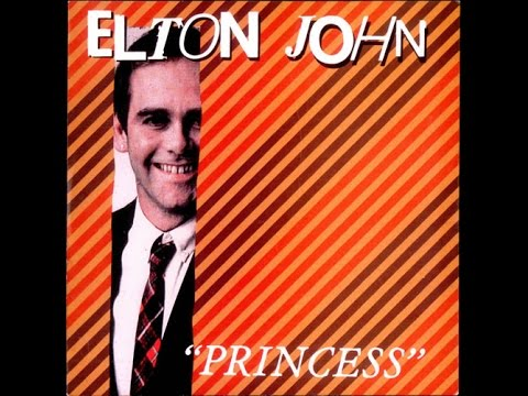 Elton John - Princess (1982) With Lyrics!
