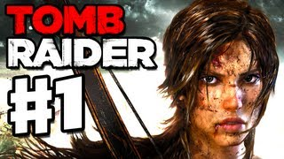 Tomb Raider - 2013 Gameplay Walkthrough Part 1 - Lara Croft is Back! (PC, XBox 360, PS3)