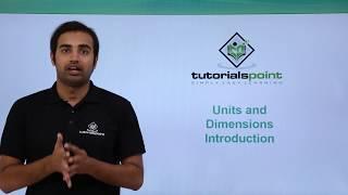 Unit of Measurement - Tutorials Point (India) Pvt  Ltd