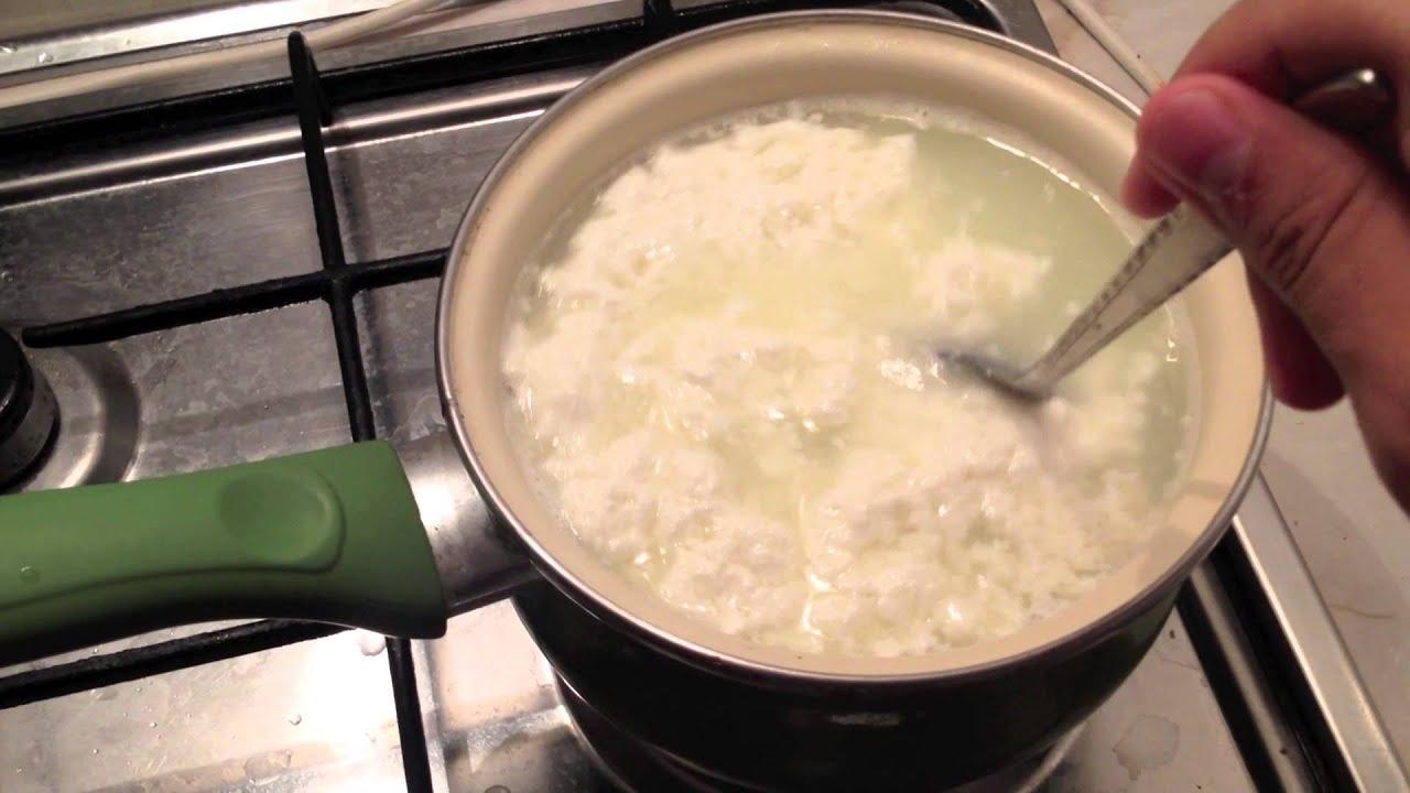 Рецепт приготовления творога в домашних условиях