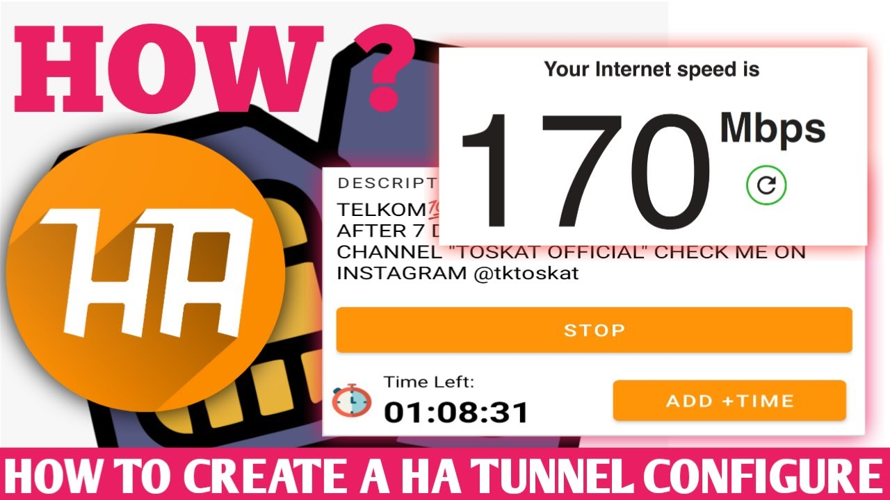 Download How To Create HA Tunnel Plus files | Allnet Host | Vodacom | Cell C | Telkom | MTN | New VPN 2021