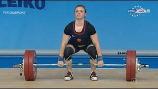 Чемпионат Европы 2015. Женщины в.к. до 63 кг.