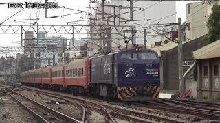 台鐵E200型電気機関車(E212・E213)「南海ラピート色」