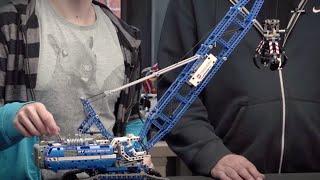 Crawler Crane - LEGO Technic - Designer Video 42042