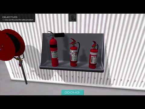 Interactive Fire Safety Training Module