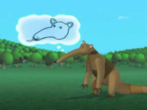 Topolino e gli animali da record il formichiere youtube