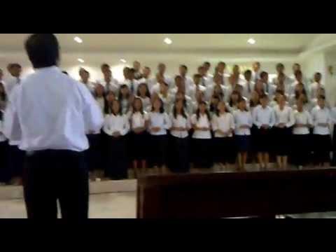 koor natal pemuda-remaja Gereja Pentakosta Indonesia Bandar Lampung