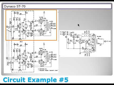 on valve amp schematics