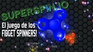 SPINNER IO!? EL JUEGO DE LOS FIDGET SPINNERS! | SuperSpin.io -Nicko GEX.