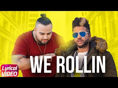 We Rollin (Lyrical Video) | Sukhe | Deep Jandu | J-Hind | Shrey Sean | Blizzy | Minister Music