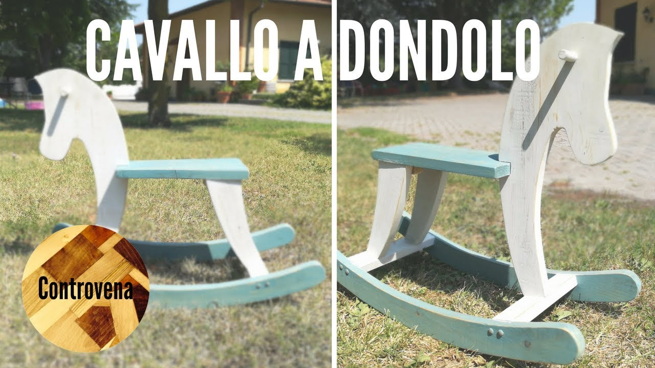 Cavallo a dondolo in legno fai da te youtube for Youtube fai da te legno