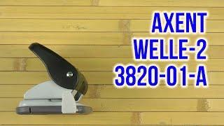 Розпакування Axent Welle-2 20 аркушів Чорний 3820-01-А