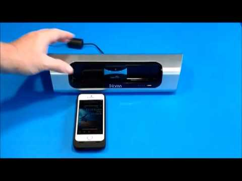 How to Connect iPhone 5 to iHome with CoolStream