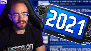 The PlayStation Vita St๐re In 2021...
