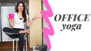 OFFICE YOGA - 10 minute de yoga la birou
