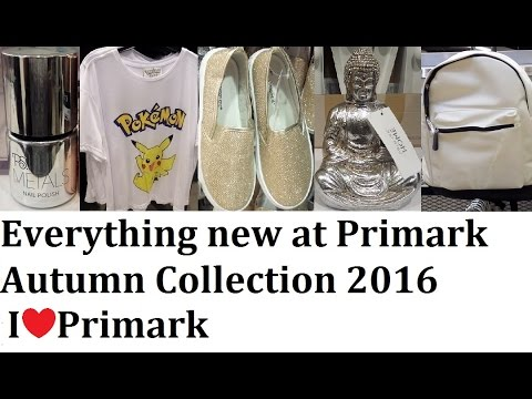 Everything new at Primark - Autumn collection - Over 1k new items!  | September 2016 | IlovePrimark