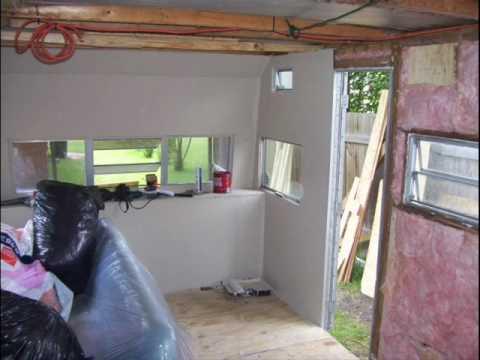 Camper Rebuild Project Wmv Youtube