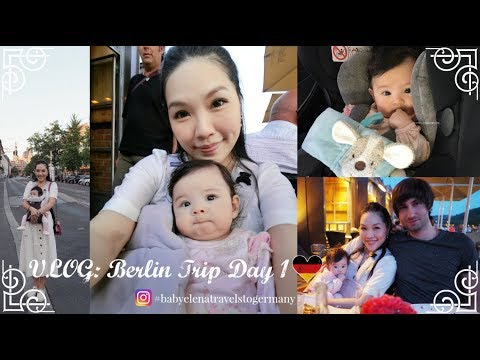 VLOG: Berlin Trip Day 1♥ | ANGELBIRDBB