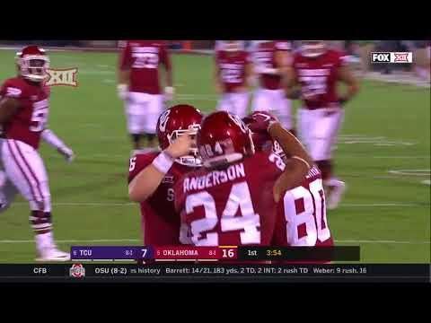 TCU at Oklahoma Football Highlights
