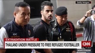 Calls growing for Thailand to free refugee footballer Hakeem Al-Araibi